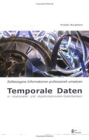 Cover of: Temporale Daten in relationalen und objektrelationalen Datenbanken
