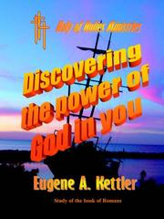 Cover of: Discovering the Power of God in you