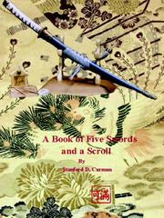 Cover of: A Book of Five Swords and a Scroll