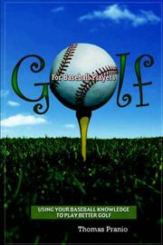 Cover of: Golf for Baseball Players