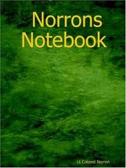 Cover of: Norrons Notebook