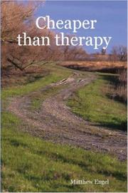 Cover of: Cheaper than therapy