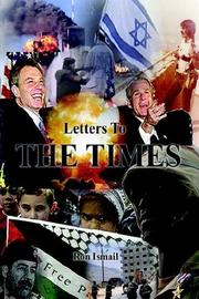 Cover of: Letters to The Times