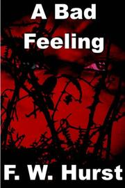 Cover of: A Bad Feeling