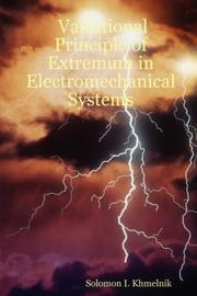 Cover of: Variational Principle of Extremum in Electromechanical Systems