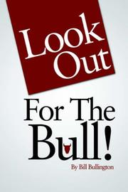 Cover of: Look Out For The Bull!