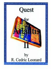 Cover of: Quest for Atlantis II | R., Cedric Leonard