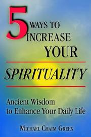 Cover of: 5 Ways to Increase Your Spirituality