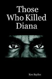 Cover of: Those Who Killed Diana