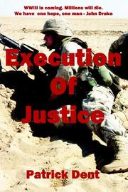 Cover of: Execution of Justice