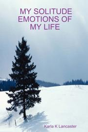 Cover of: MY SOLITUDE