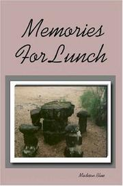 Cover of: Memories For Lunch