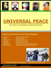 Cover of: Universal Peace