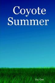 Cover of: Coyote Summer | Joy Gee