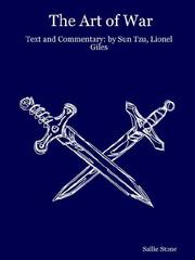 Cover of: The Art of War: Text and Commentary