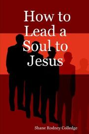 Cover of: How to Lead a Soul to Jesus