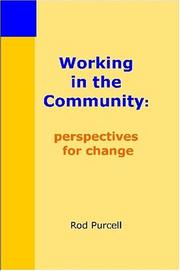 Cover of: Working in the Community