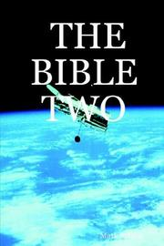 Cover of: THE BIBLE TWO