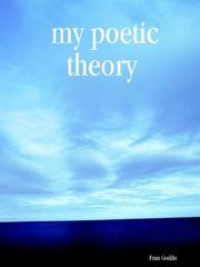 Cover of: my poetic theory