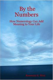Cover of: By the Numbers