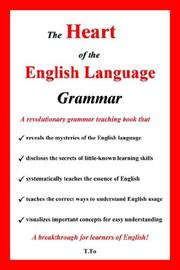 Cover of: The Heart of the English Language - Grammar