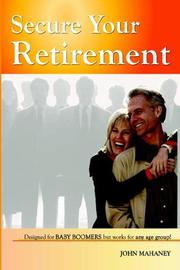 Cover of: Secure Your Retirement