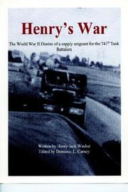 Cover of: Henry's War