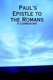Cover of: Paul's Epistle to the Romans