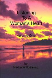 Cover of: Listening To A Woman's Heart Volume One