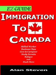 Cover of: Immigration To Canada