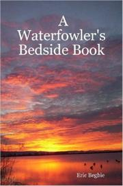 Cover of: A Waterfowler's Bedside Book