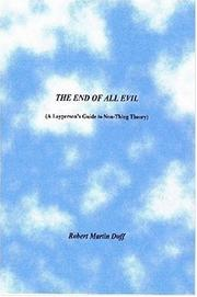 Cover of: THE END OF ALL EVIL