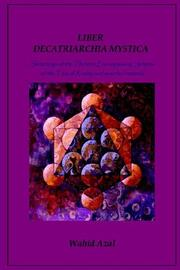 Cover of: LIBER DECATRIARCHIA MYSTICA