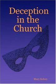 Cover of: Deception in the Church