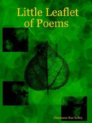 Cover of: Little Leaflet of Poems