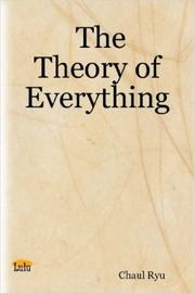 Cover of: The Theory of Everything