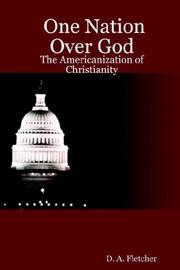 Cover of: One Nation Over God