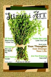 Cover of: STIMULI ART - Volume I, Issue 1