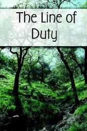 Cover of: The Line of Duty