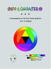 Cover of: Color & Character