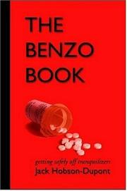 Cover of: THE BENZO BOOK