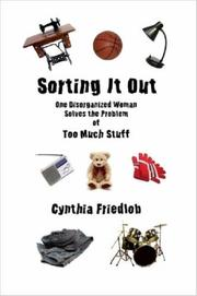 Cover of: Sorting It Out | Cynthia Friedlob