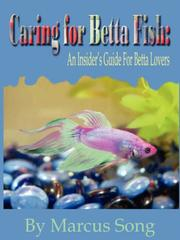 Cover of: Caring For Betta Fish