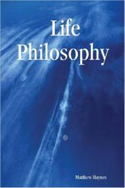 Cover of: Life Philosophy