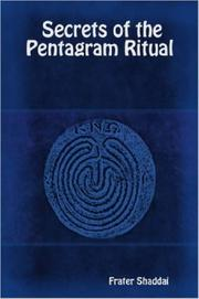 Cover of: Secrets of the Pentagram Ritual