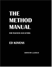Cover of: THE METHOD MANUAL