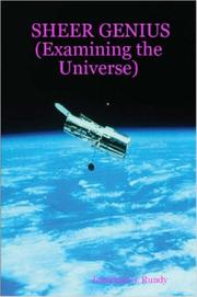 Cover of: SHEER GENIUS (Examining the Universe)