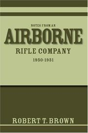 Cover of: Notes from an Airborne Rifle Company