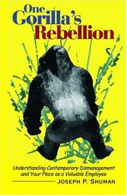 Cover of: One Gorilla's Rebellion