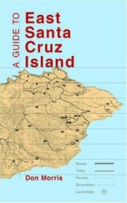 Cover of: A Guide to East Santa Cruz Island